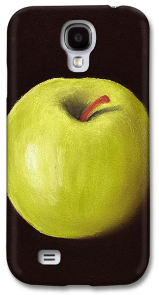 Food And Beverage Pastels Galaxy S4 Cases - Granny Smith Apple Galaxy S4 Case by Anastasiya Malakhova