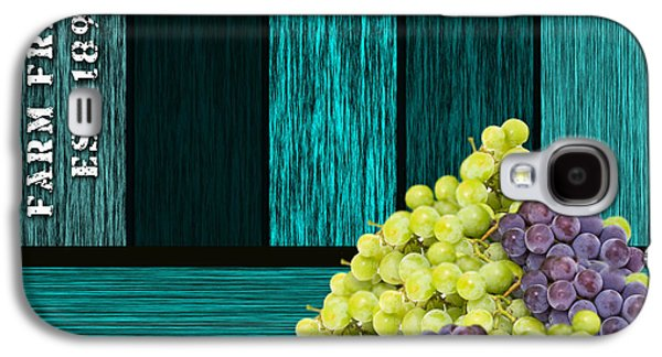 Grape Sign Galaxy S4 Case by Marvin Blaine