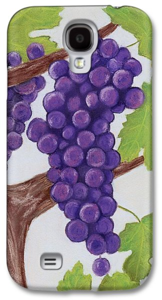 Food And Beverage Pastels Galaxy S4 Cases - Grape Vine Galaxy S4 Case by Anastasiya Malakhova