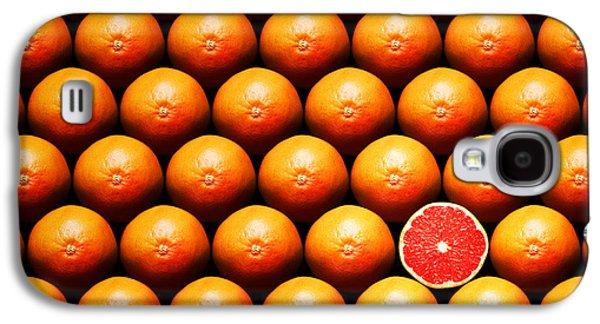 Grapefruit Slice Between Group Galaxy S4 Case by Johan Swanepoel