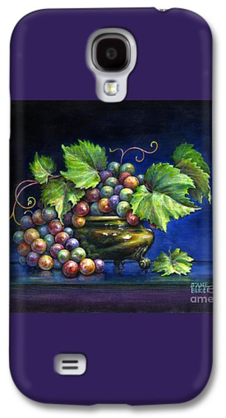 Grapes In A Footed Bowl Galaxy S4 Case by Jane Bucci