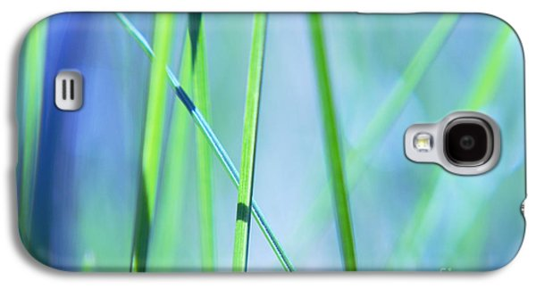 Aimelle Galaxy S4 Cases - Grass Abstract - 0102a Galaxy S4 Case by Variance Collections