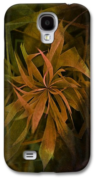 Grass Abstract - Earth Galaxy S4 Case by Marianna Mills