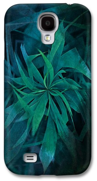 Grass Abstract - Water Galaxy S4 Case by Marianna Mills