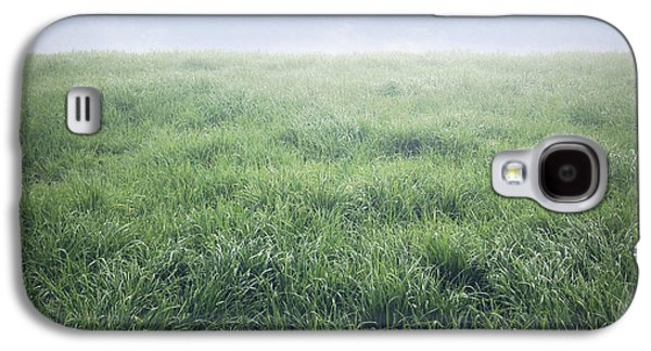 Grass Galaxy S4 Cases - Grass and sky  Galaxy S4 Case by Les Cunliffe