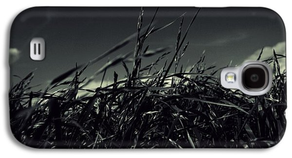 Contemplative Photographs Galaxy S4 Cases - Grass in exultation Galaxy S4 Case by Kevin Gibbs