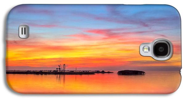 Refuge Galaxy S4 Cases - Grass Islands of the Gulf Galaxy S4 Case by Marvin Spates