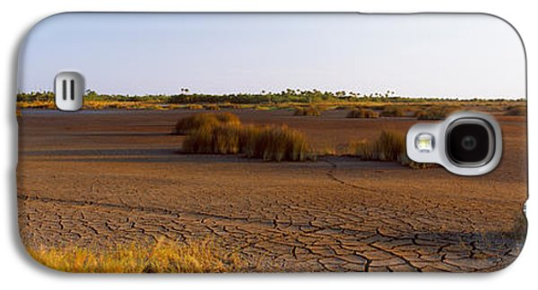 Wildlife Refuge. Galaxy S4 Cases - Grass On A Dry Land, Black Point Galaxy S4 Case by Panoramic Images
