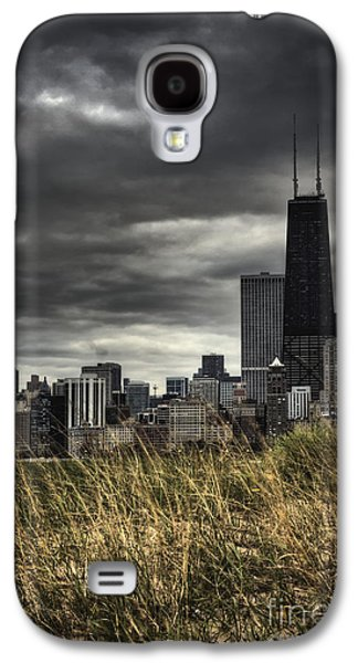 Engulfing Galaxy S4 Cases - Grasses Along the Skyline Galaxy S4 Case by Margie Hurwich