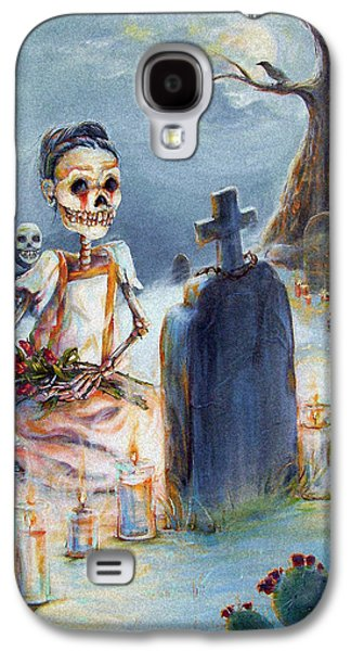 Death Galaxy S4 Cases - Grave Sight Galaxy S4 Case by Heather Calderon