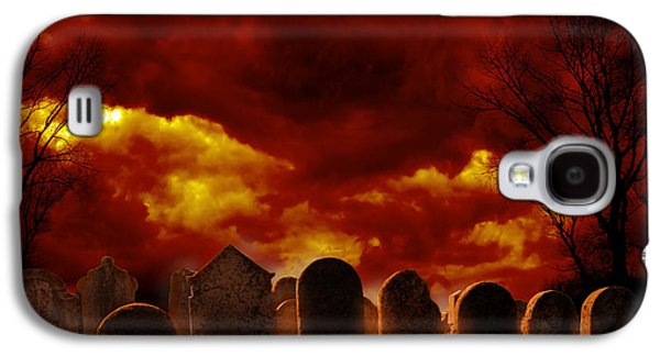 Graveyard Galaxy S4 Cases - Graveyard Galaxy S4 Case by Jelena Jovanovic