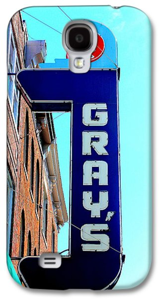 Historic Downtown Franklin Galaxy S4 Cases - Grays Rx Galaxy S4 Case by Anthony Jones