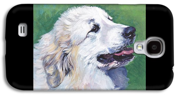 Recently Sold -  - Puppies Galaxy S4 Cases - Great Pyrenees  Galaxy S4 Case by Lee Ann Shepard