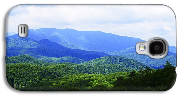 Contemplative Photographs Galaxy S4 Cases - Great Smoky Mountains Galaxy S4 Case by Christi Kraft