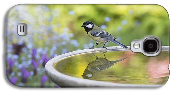 Great Birds Galaxy S4 Cases - Great Tit Reflection  Galaxy S4 Case by Tim Gainey