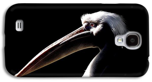 Great Birds Galaxy S4 Cases - Great White Pelican Galaxy S4 Case by Mark Rogan