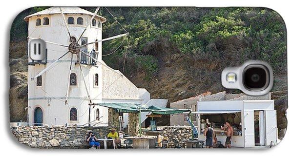 Outlet Galaxy S4 Cases - Greek windmill Galaxy S4 Case by Tom Gowanlock