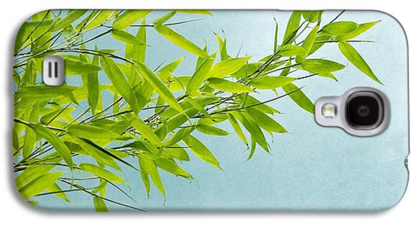 Bamboo Galaxy S4 Cases - Green Bamboo Galaxy S4 Case by Priska Wettstein