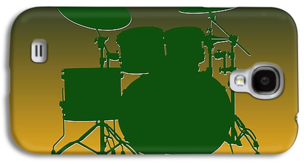 Green Bay Packers Drum Set Galaxy S4 Case by Joe Hamilton