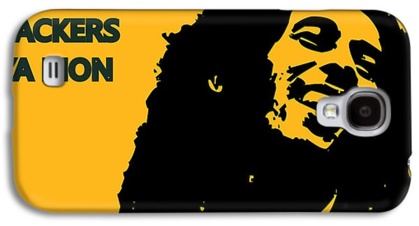 Green Bay Packers Ya Mon Galaxy S4 Case by Joe Hamilton