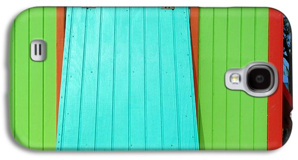 Cabin Window Galaxy S4 Cases - Green Cabin Galaxy S4 Case by Randall Weidner