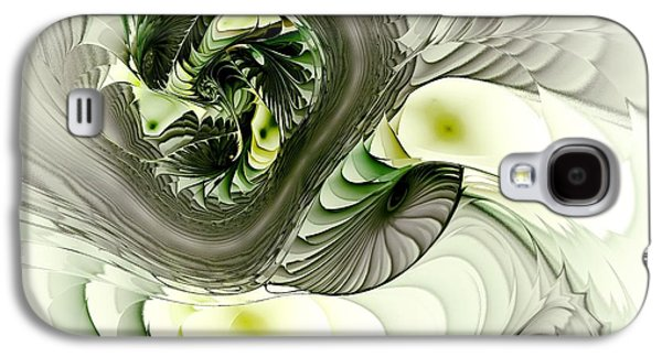 Scary Galaxy S4 Cases - Green Dragon Galaxy S4 Case by Anastasiya Malakhova