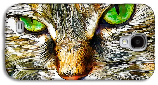 Digital Galaxy S4 Cases - Green-Eyed Monster Galaxy S4 Case by Bill Caldwell -        ABeautifulSky Photography