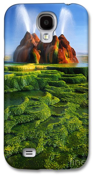 Green Fly Geyser Galaxy S4 Case by Inge Johnsson