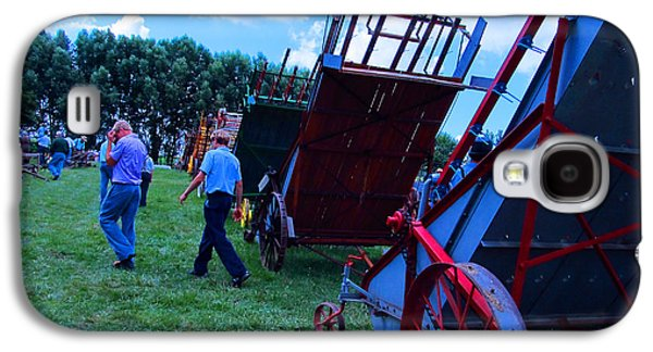 Amish Community Photographs Galaxy S4 Cases - Green Grass and Old Equipments Galaxy S4 Case by Tina M Wenger