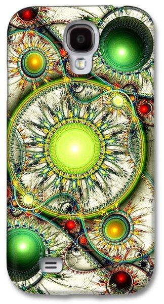 Green Jewelry Galaxy S4 Case by Anastasiya Malakhova