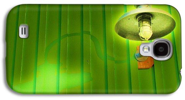 Popular Galaxy S4 Cases - Green Light Galaxy S4 Case by John King