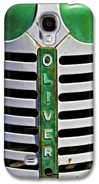 Harts Galaxy S4 Cases - Green Oliver Farm Tractor Galaxy S4 Case by David Letts