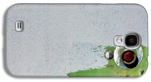 Contemplative Photographs Galaxy S4 Cases - Green on Gray Galaxy S4 Case by Dan  Meylor