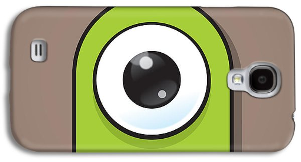 Eye-catching Galaxy S4 Cases - Green Galaxy S4 Case by Samuel Whitton