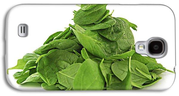 Green Spinach Galaxy S4 Case by Elena Elisseeva