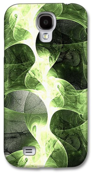 Healthy Galaxy S4 Cases - Green Surge Galaxy S4 Case by Anastasiya Malakhova