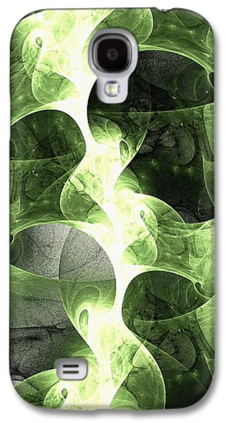 Stream Galaxy S4 Cases - Green Surge Galaxy S4 Case by Anastasiya Malakhova