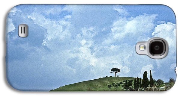 Tuscan Hills Galaxy S4 Cases - Green Tuscan hills Galaxy S4 Case by Heiko Koehrer-Wagner