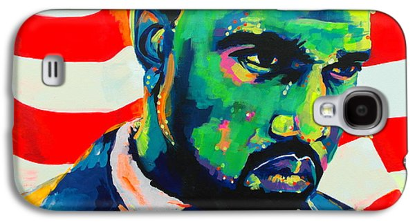 Kanye West Paintings Galaxy S4 Cases - Green With Envy Yeezus Galaxy S4 Case by Miss Anna Hall