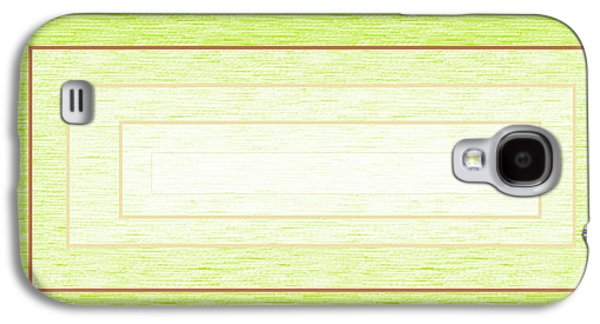 Abstract Digital Drawings Galaxy S4 Cases - Greener Pastures Galaxy S4 Case by Chienyem Ike