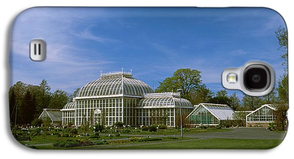 Botanical Galaxy S4 Cases - Greenhouse In A Botanical Garden Galaxy S4 Case by Panoramic Images