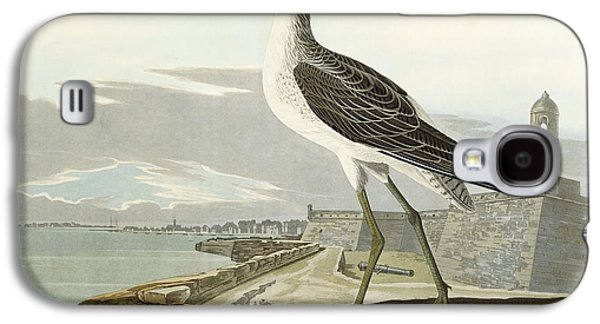 Feather Drawings Galaxy S4 Cases - Greenshank Galaxy S4 Case by John James Audubon