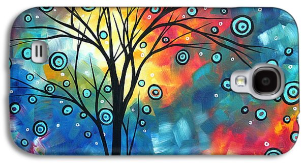 Greeting The Dawn By Madart Galaxy S4 Case by Megan Duncanson