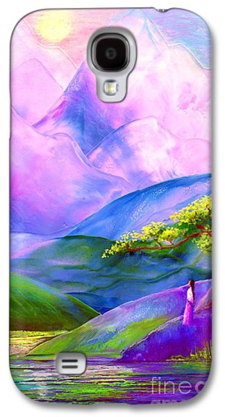 Poetic Galaxy S4 Cases - Greeting the Dawn Galaxy S4 Case by Jane Small