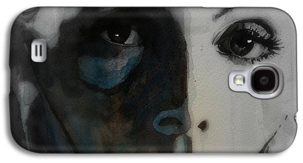 Recently Sold -  - Girl Galaxy S4 Cases - Greta Garbo Galaxy S4 Case by Paul Lovering