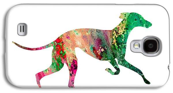 Greyhound Galaxy S4 Cases - Greyhound 2 Galaxy S4 Case by Luke and Slavi