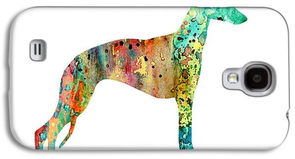 Greyhound Galaxy S4 Cases - Greyhound  Galaxy S4 Case by Luke and Slavi