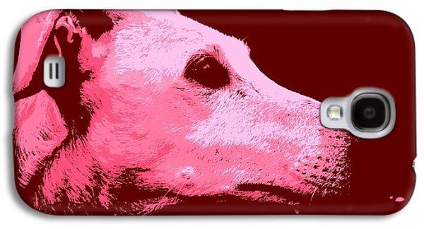 Greyhound Profile Galaxy S4 Case by Clare Bevan