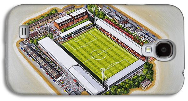 Art Mobile Galaxy S4 Cases - Griffin Park - Brentford FC Galaxy S4 Case by D J Rogers