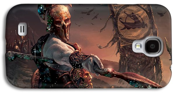 Grim Guardian Galaxy S4 Case by Ryan Barger
